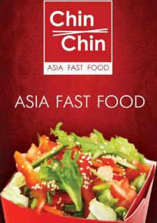 Буклет для сети ресторанов азиатской кухни