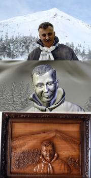 Портрет-барельєф по фото