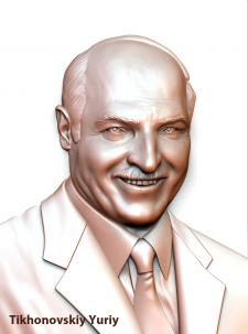 Портрет Александра Григорьевича Лукашенко (президе