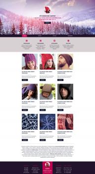 Сайт-каталог. Итальянские шапки оптом и в розницу.