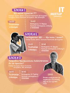 Расписание для IT мероприятия