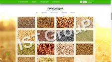 Сайт экспортера с\х продукции Palmira
