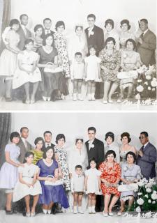 Восстановление и окраска старых фотографий