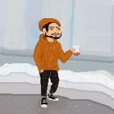 пиксель персонаж