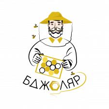 Лого для мёда Бджоляр