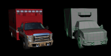 Ford F550 Fire