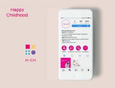 Логотип на конкурс для Happy Childhood
