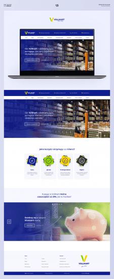 Дизайн сайта торговой сети Vollmart