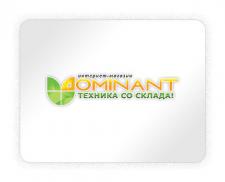 """Логотип интернет-магазина """"DOMINANT"""""""