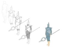 стражник (солдат) образец