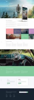 Take Template | Верстка HTML+LESS