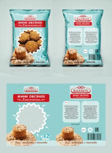Упаковка для овсяного печенья