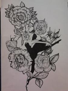ескиз для tattoo