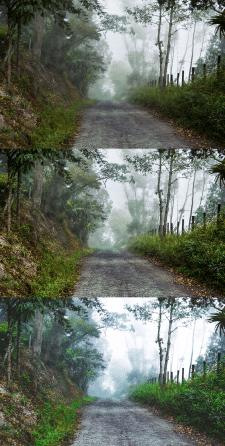 Цветокоррекция пейзажа