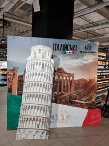 """Дизайн фотозоны """"Итальянские недели"""""""