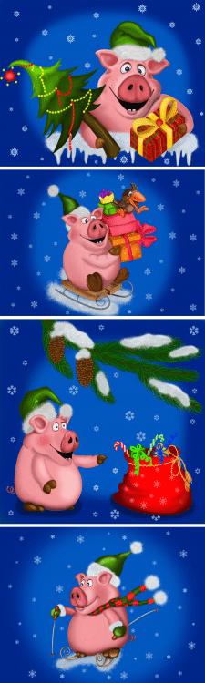 Christmas Pig 2019