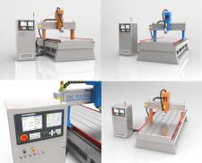 3D-модель промышленного оборудования