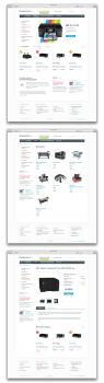 Сайт каталог по продажам принтеров