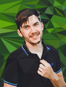 poligon portret