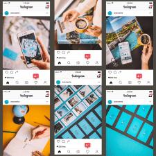Фотосессия для аккаунта Instagram