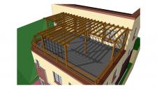 проект реконструкции дома. варианты.