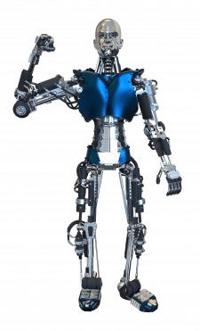 digital рисунок робота