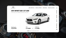 Дизайн сайту INFINITI Q50