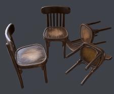 стилизованный стул