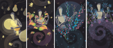 Серия векторных иллюстраций