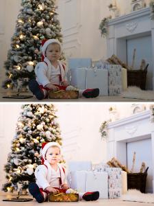 Цветокоррекция детских фото