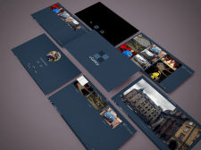 uGallery - UI project of PC media application