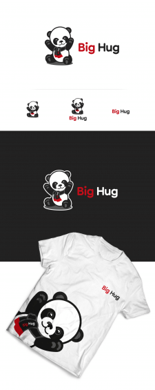"Логотип ""BIG HUG"""
