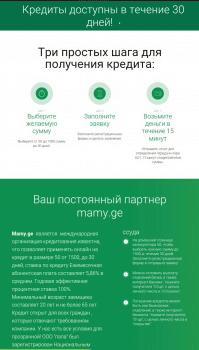 Потребительское кредитование в Грузии