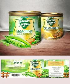 Дизайн этикетки консервированной продукции
