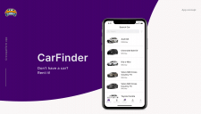 Мобильное приложение аренды машин
