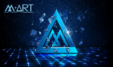 "Вариации логотипа для компании ""M+ART"""