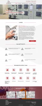 Сайт для фирмы низковольтных комплектных устройств