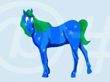 персонаж лошадка
