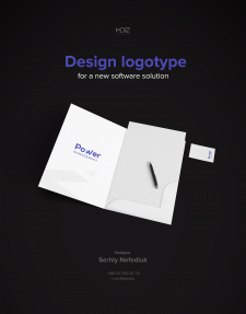 Design logotype for a new software solutions