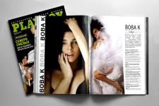 """Дизайн и верстка рекламной статьи в """"Playboy"""""""