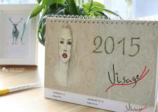 "Calendar ""Visage"""