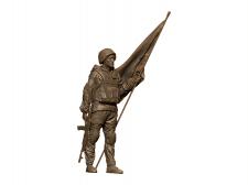 3D проект памятника в городе Никополь.