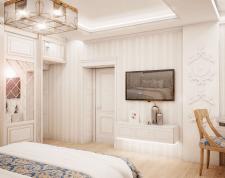 Дизайн визуализация спальни 4