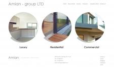 Сайт по архитектуре и дизайну (Вариант 2)