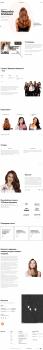 Верстка сайта салона красоты