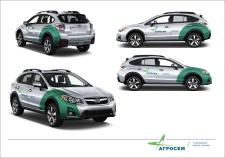 Разработка дизайна корпоративных авто компании