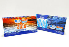 """Календарь-домик для компании """"Теплые моря"""""""