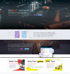 chat bot for taxi