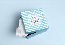 Коробка-упаковка, фирменный стиль