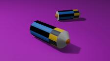The color pencils
